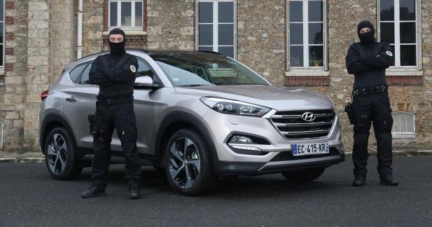 Les agents du RAID sous couverture pendant l'Euro grâce à Hyundai