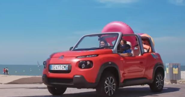Aujourd'hui, Uber vous livre des glaces en Citroën E-Méhari