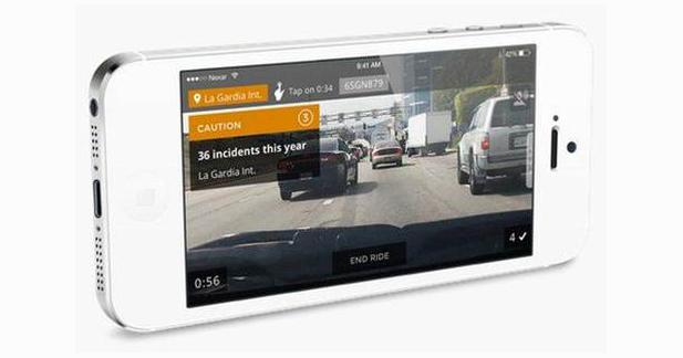 Une application DashCam pour l'iPhone