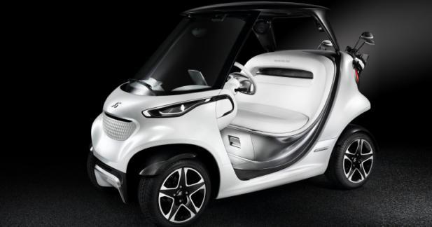 Mercedes se lance dans la voiturette de golf de luxe