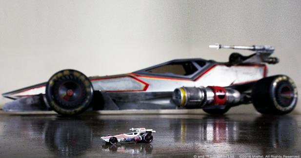 Hot Wheels invente le X-Wing à quatre roues