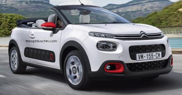 La nouvelle Citroën C3 imaginée en cabriolet