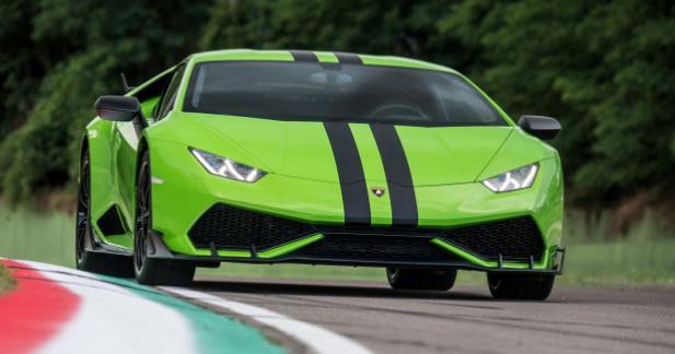 Lamborghini fait du tuning sur sa Huracan
