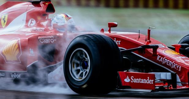 Ferrari a testé les pneus XXL de F1 2017