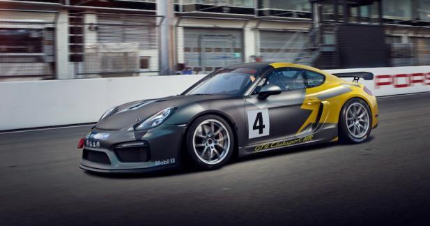 Porsche Cayman GT4 Clubsport MR : monsieur plus