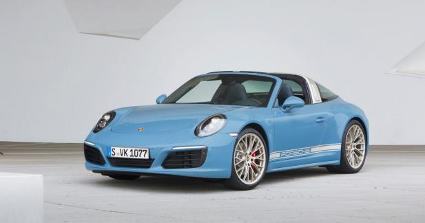 Porsche 911 Targa 4S Exclusive Design Edition : la belle bleue