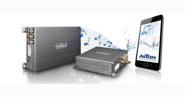 Axton dévoile deux nouveaux amplis avec DSP intégré