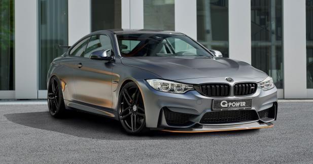 BMW M4 GTS par G-Power : le collector revisité pour produire 615 ch