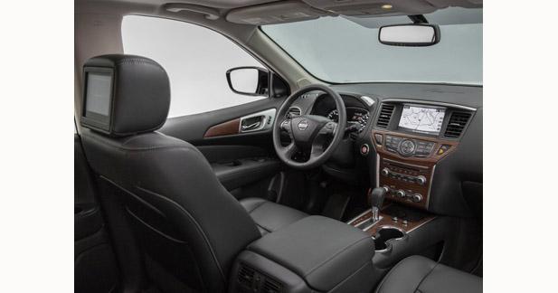 Le nouveau Nissan Pathfinder propose un bel équipement multimédia