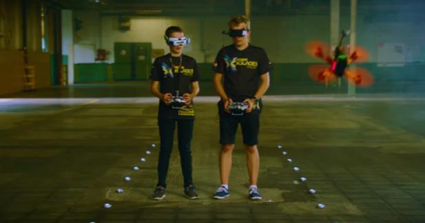 Ford se lance dans les gymkhanas de drones
