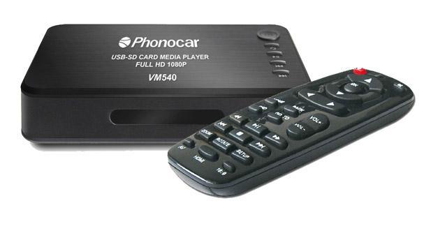 Un player USB/SD HD pour votre installation multimédia chez Phonocar