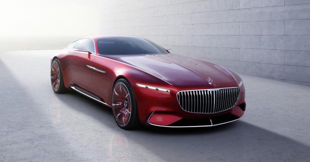 Vision Mercedes-Maybach 6: l'électrique au service du grand luxe