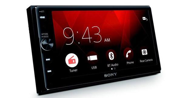 Sony dévoile un combiné multimédia doté du CarPlay