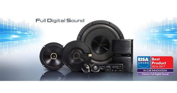 Clarion reçoit le Prix de l'Innovation de l'Année pour son système Full Digital Sound