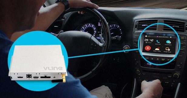 Grom Audio propose un système Android pour upgrader l'autoradio d'origine des Lexus et Toyota