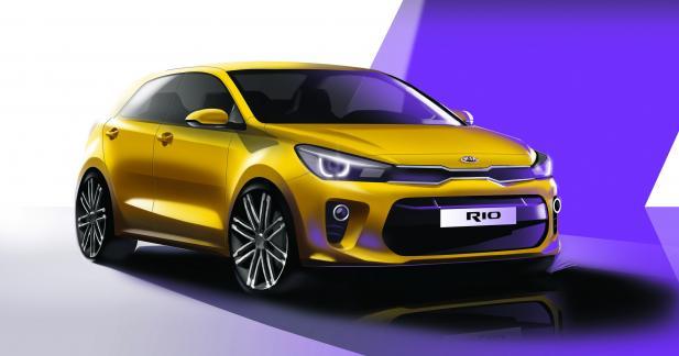 Premières images officielles pour la future Kia Rio