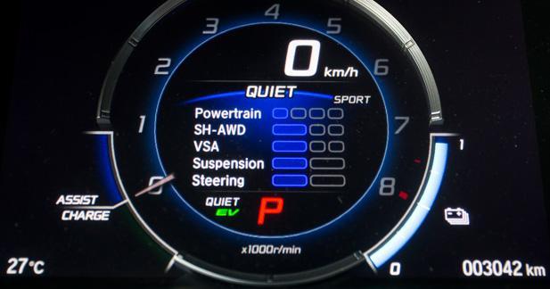 Un V6 et 3 moteurs électriques