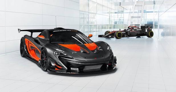 La P1 GTR enfile la même tenue que la Formule 1 de McLaren