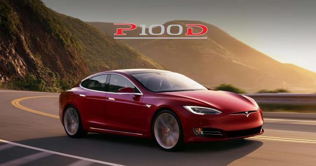 Tesla Model S P100D : le prix français dévoilé