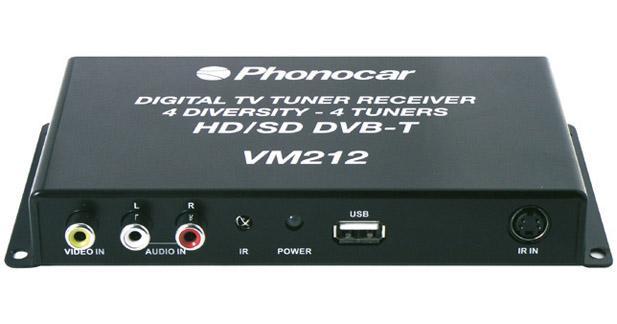 Un tuner TNT HD performant chez Phonocar