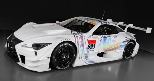 L'élégante Lexus LC 500 se transforme en voiture de course