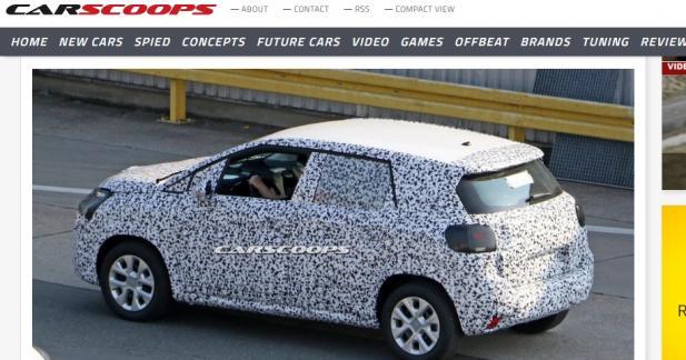 Le nouveau Citroën C3 Picasso se montre pour la première fois