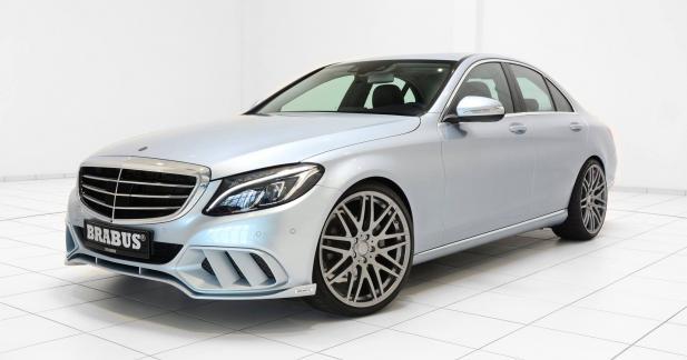 "Brabus revisite la Mercedes Classe C ""civile"""