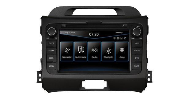 ESX propose un autoradio GPS « plug and play » pour le Kia Sportage 3