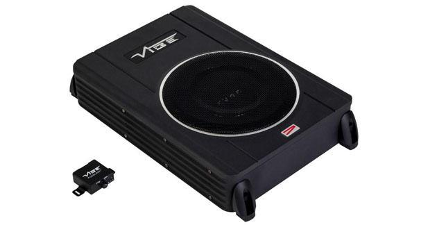 Vibe présente un caisson actif intégrable dans sa gamme CVEN