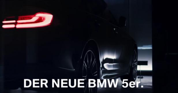 La nouvelle BMW Série 5 se laisse entrevoir