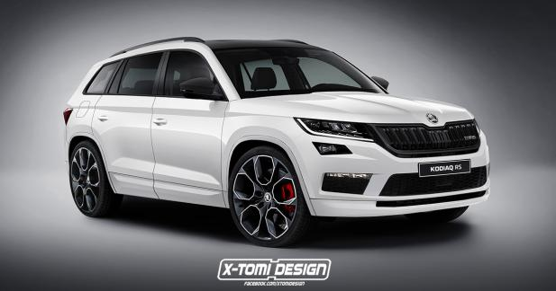 skoda kodiaq rs et si le constructeur tch que osait. Black Bedroom Furniture Sets. Home Design Ideas