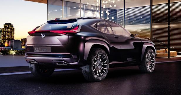 Lexus UX Concept : un petit SUV coupé en approche pour le Mondial