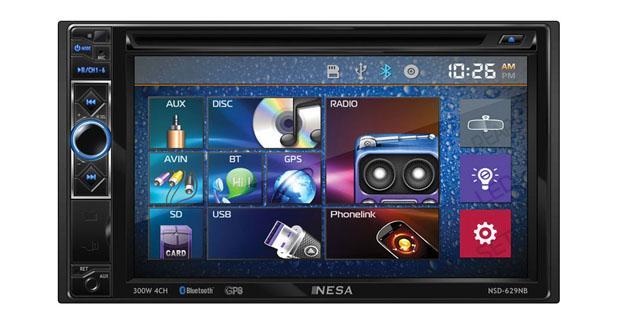 Un autoradio pouvant afficher les Smartphones Android chez Nesa Vision