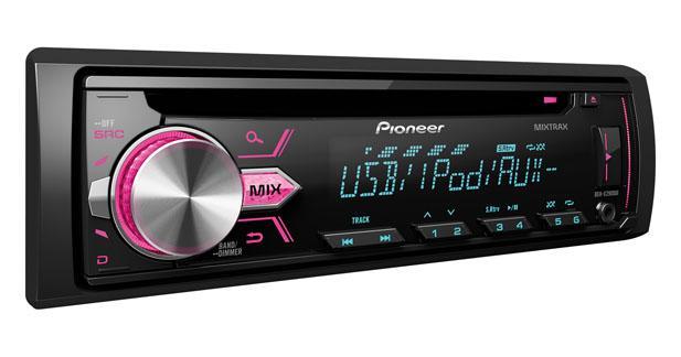Un nouvel autoradio laser compatible Smartphones chez Pioneer