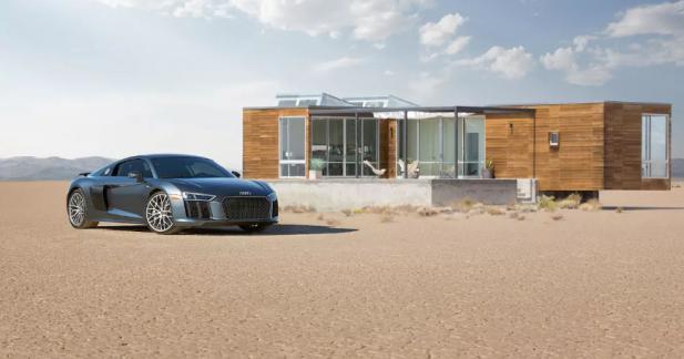 Louez cette maison sur Airbnb et faites un tour en Audi R8