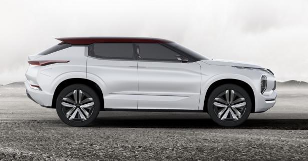 Mitsubishi GT-PHEV Concept : bientôt un anti-BMW X6 chez Mitsubishi ?