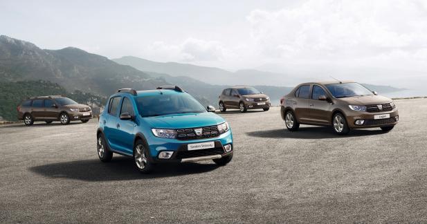 Une première photo pour les Dacia Logan et Sandero restylées