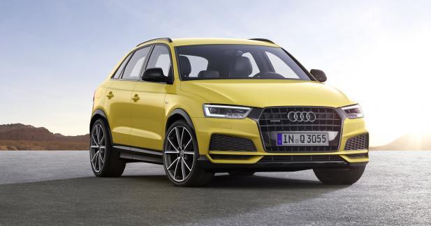 Audi Q3 restylé : jamais deux sans (Q) trois