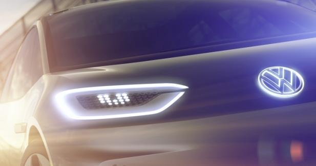 Volkswagen entend révolutionner la voiture électrique au Mondial