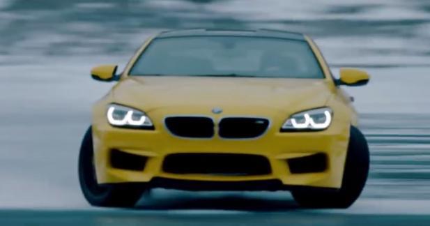 Une BMW M6, de la neige et des loups pour la nouvelle pub de Pennzoil