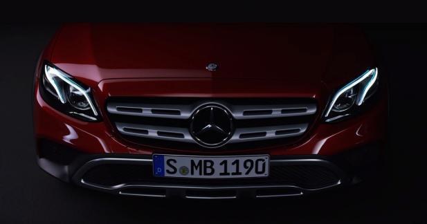 La Mercedes Classe E All Terrain se montre en vidéo