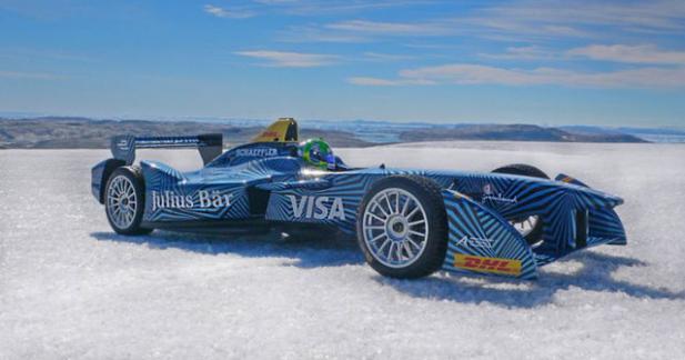 La Formule E fait un tour au Groenland