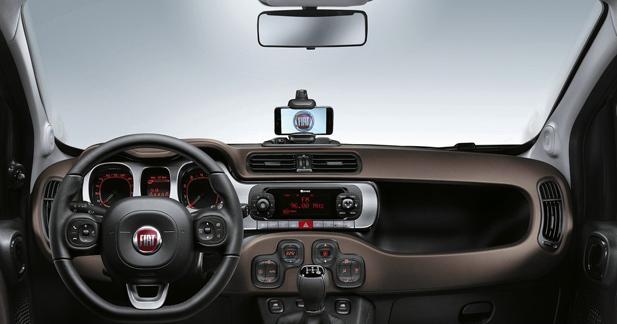 La nouvelle Fiat Panda utilisera le Smartphone comme système multimédia