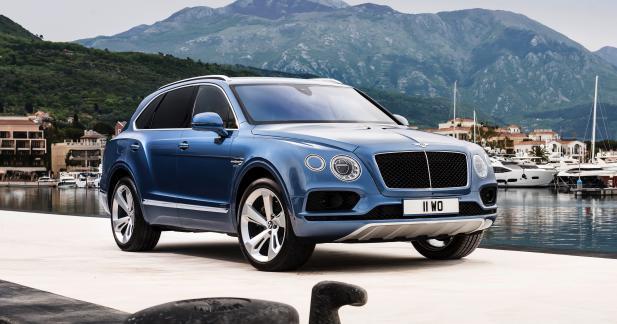 Bentley Bentayga Diesel : allure de Bentley, cœur d'Audi SQ7