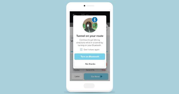 Waze propose la première solution de navigation dans les tunnels