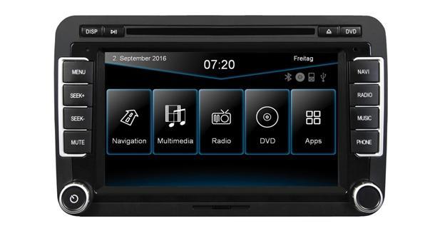 ESX présente un autoradio GPS pour la VW Beetle 2016