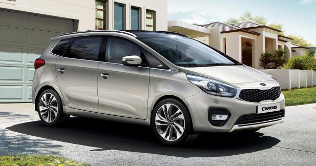 Kia rajeunit le Carens pour le Mondial de l'Automobile