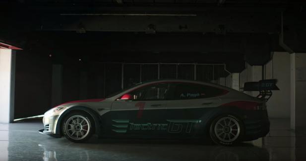 La version course de la Tesla Model S se dévoile