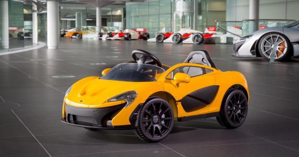 McLaren vend désormais une P1 électrique... et destinée aux enfants !