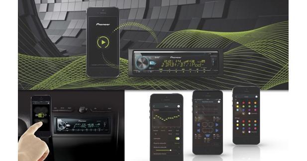 Pioneer présente une application pour contrôler son autoradio au Mondial de l'Auto 2016